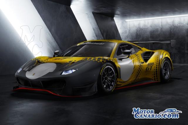 Ferrari anuncia el 488 GT Modificata.