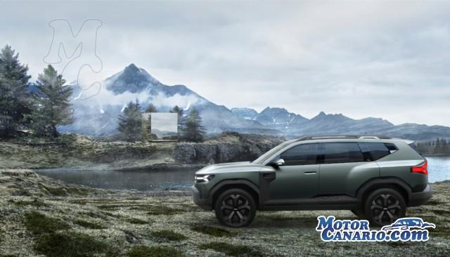 Dacia desembarca en el segmento de los SUV medios.