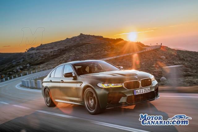 BMW exhibe el exhuberante M5 CS, el más bestia de todos los tiempos.