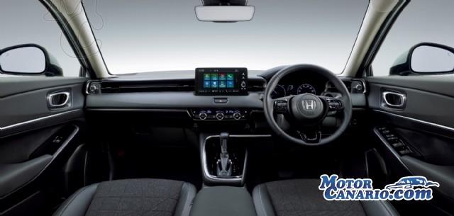 El nuevo Honda HR-V llegará a finales de año y únicamente híbrido.