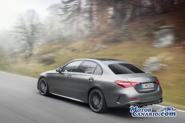 Mercedes lanza el nuevo Clase C, muy digital y tecnológico.