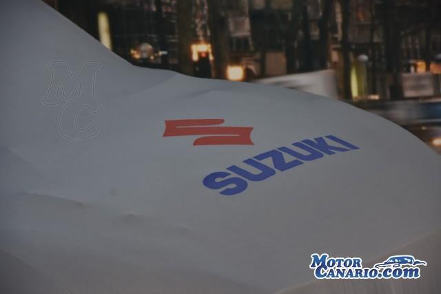 Preciosa decoración en el Suzuki Swift de Manolo Mesa para este 2021.