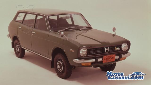 Subaru celebra 20 millones de vehículos 4WD ya fabricados.