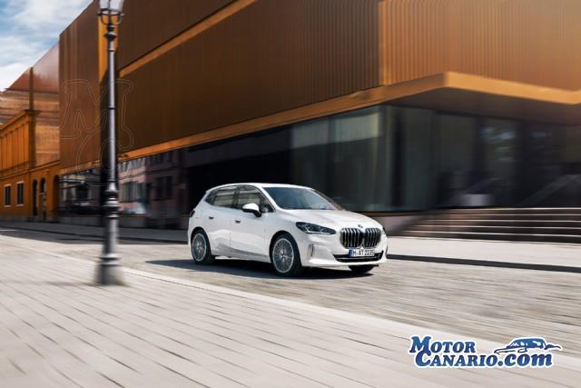 Concepto crossover en la nueva generación del BMW Serie 2 Active Tourer.
