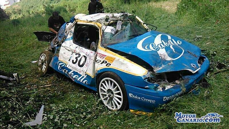 video coche rally: